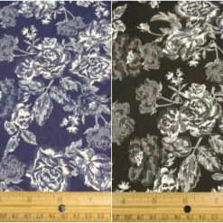 Libby Flower Stretch Suiting