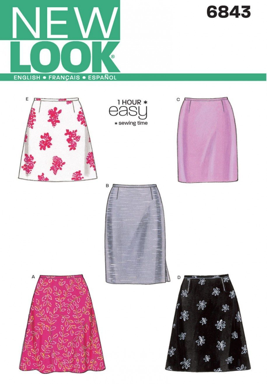 New Look Sewing Pattern 6843 | Fabric Land
