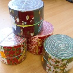 Christmas Patchwork Swiss/Jelly Rolls