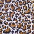 Leopard Fur Poly Cotton