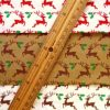 Cotton Fabric Christmas Stag