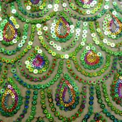 Peacock sequin 2