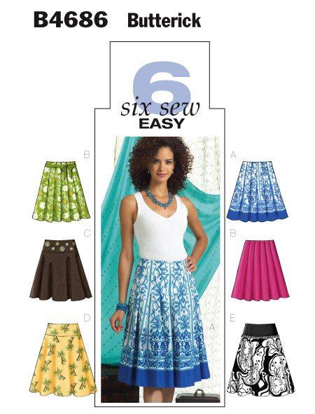 Butterick Sewing Pattern 4686