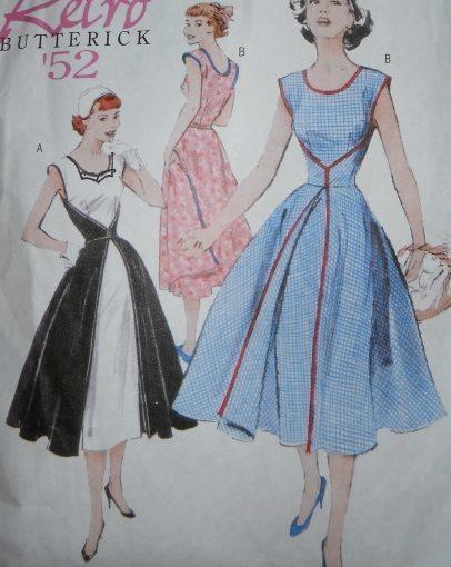 Butterick Sewing Pattern 4790 Walk Away Dress