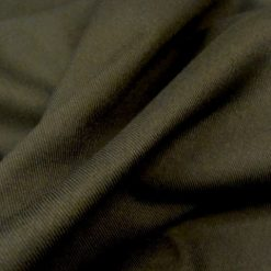 Black Le-Roy Poly Viscose Suiting
