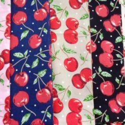 Fruit Print Cotton Fabric