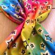 Lycra Fabric Star Explosion