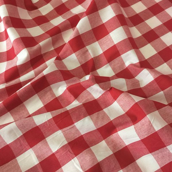 24mm Red gingham