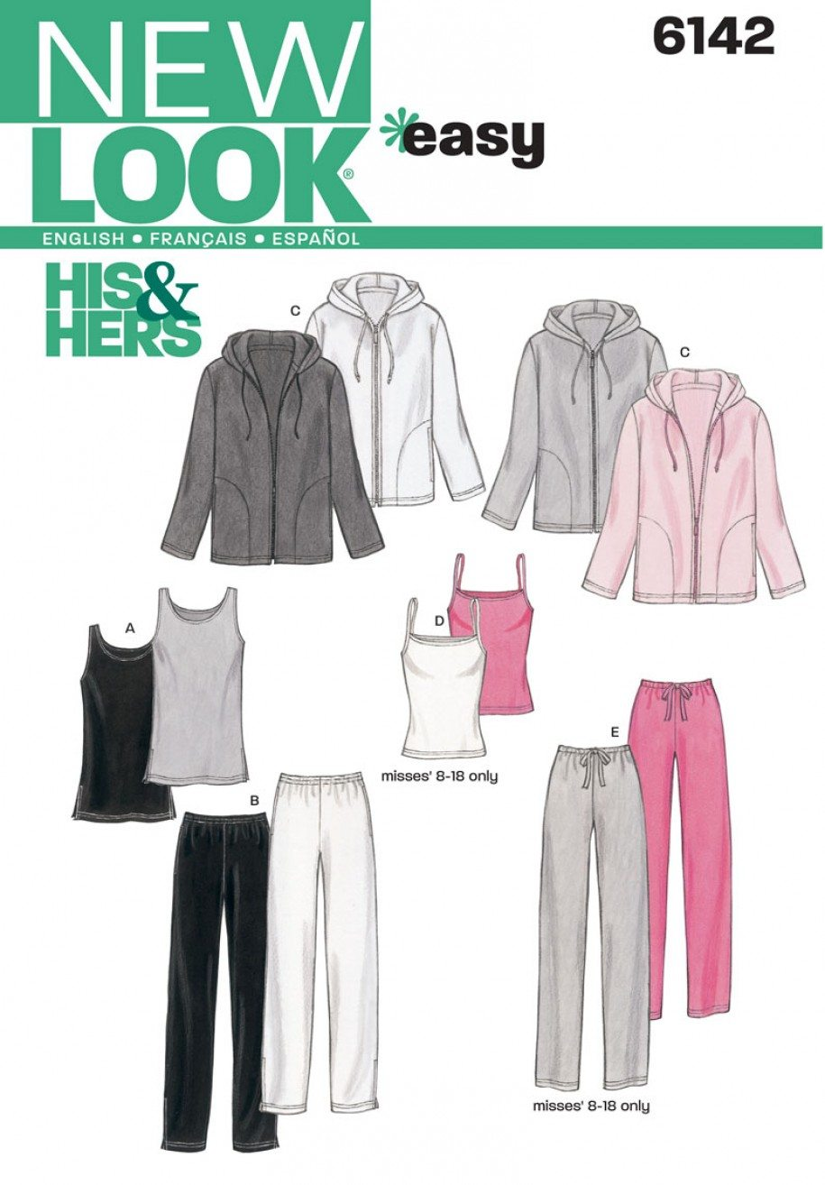 New Look Sewing Pattern 6142 | Fabric Land