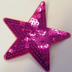 sequin star motif
