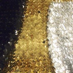 Stretch Sequin Boob Tubing Fabric