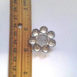 Diamante Flower Buttons Code B170