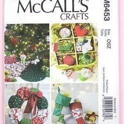 McCalls Sewing Pattern 6453