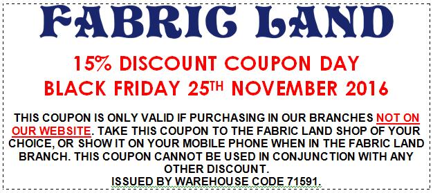 Black Friday Discount Voucher