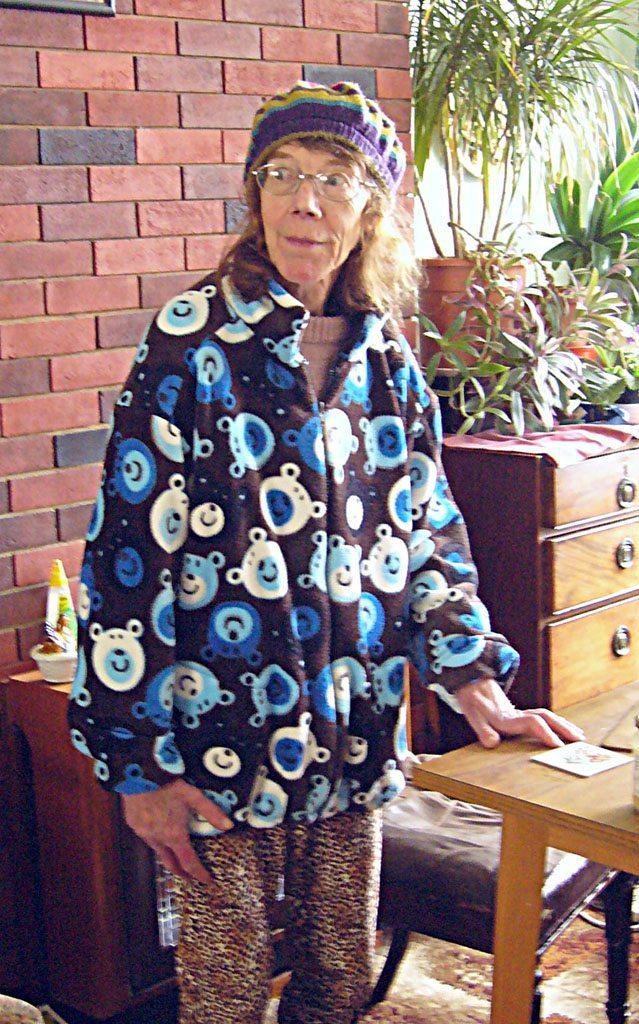 Huggy Bear Coat made with Fleece Fabric