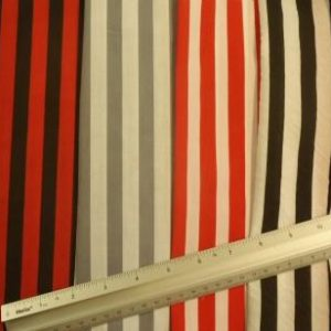 Polyester Cotton Fabric Striped