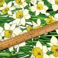 Floral Doreen Daffodil Cotton Fabric