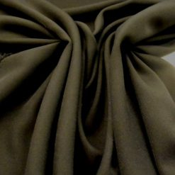 Black Gull Wool Lycra Suiting Fabric