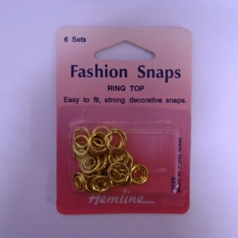 Ring Top Gold