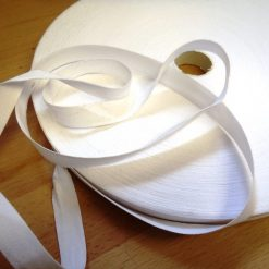 White Seam Binding 1/2""