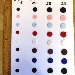 p128 matt buttons