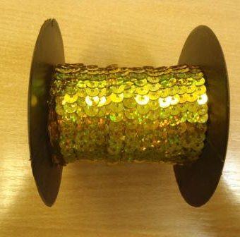 Gold Hologram