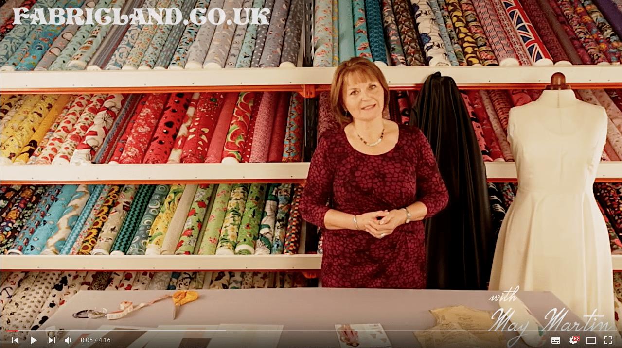 may martin sewing patterns Fabric Land