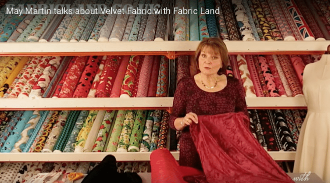 May Martin introduces us to the different Velvet Fabrics