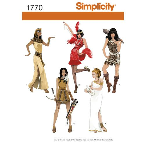 Simplicity Sewing Pattern 1770