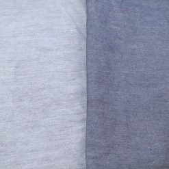 Plain Cotton Chambray Fabric