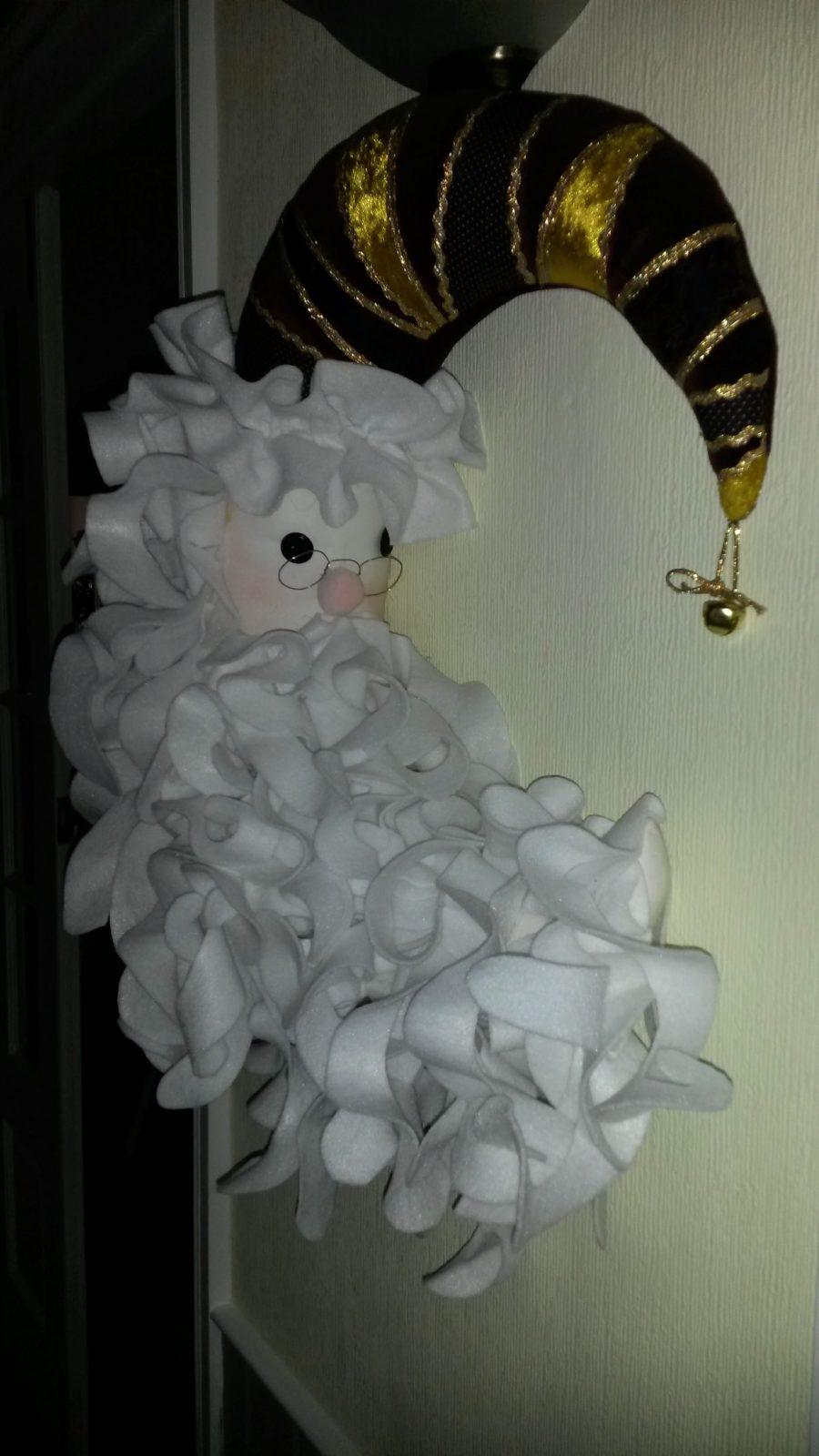 Father Christmas made with Felt Fabrics