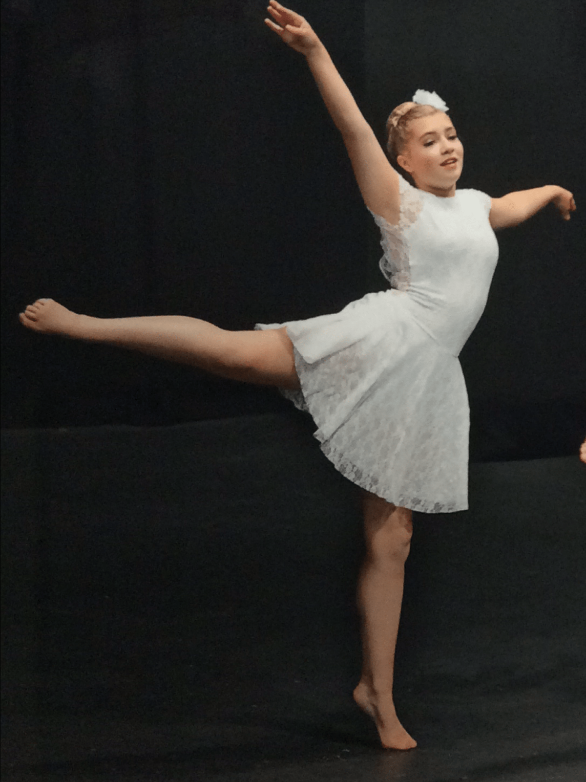 Lyrical Dance Costume made with Lycra