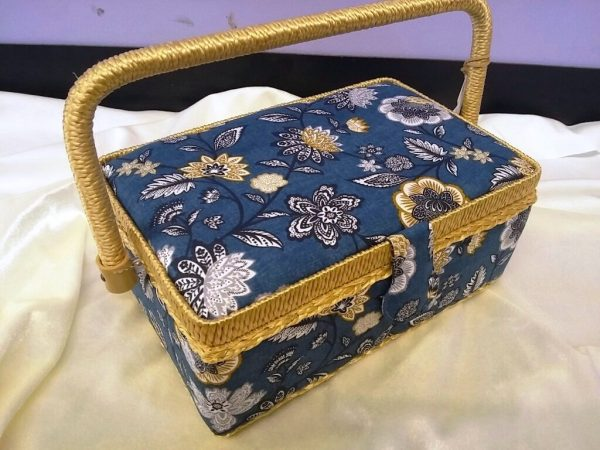 Floral Medium Sewing Box Code WB828