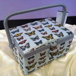Butterfly Medium Sewing Box Code WB852