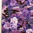 T-Shirting Fabric Purple Roses