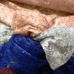 Lace Fabric Metallic