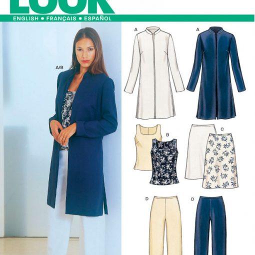 New Look Pattern 6163