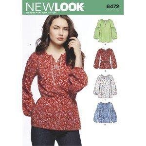 New Look Pattern 6472