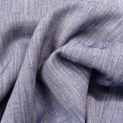 Amy Blue Lightweight Chambray Fabric