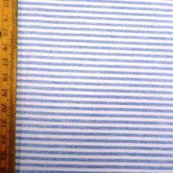 Suiting stripe saxe blue beach