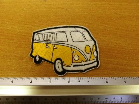 yellow camper van