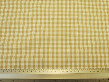 toffee 6mm gingham
