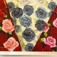 Cotton Fabric Beautious Rose Floral Design
