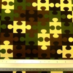 Cotton Fabric Army Jigsaw