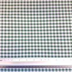 Emerald 6mm Gingham Fabric
