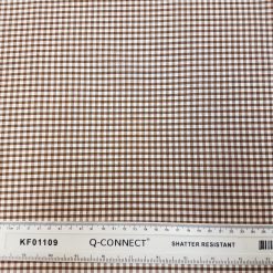 3mm Brown Gingham