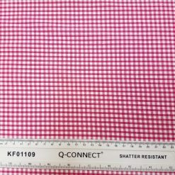 3mm Cerise Gingham