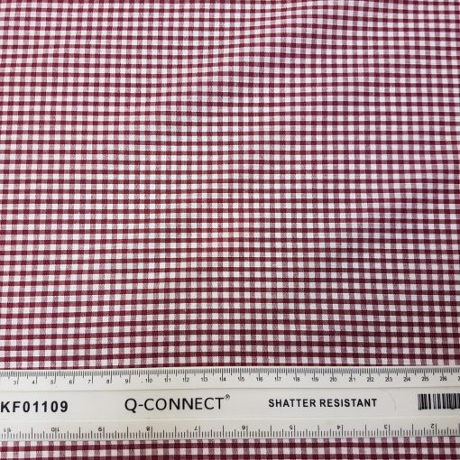 3mm Wine Gingham