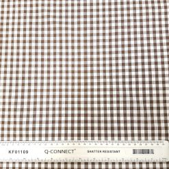 6mm Brown Gingham