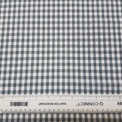 6mm Grey Gingham